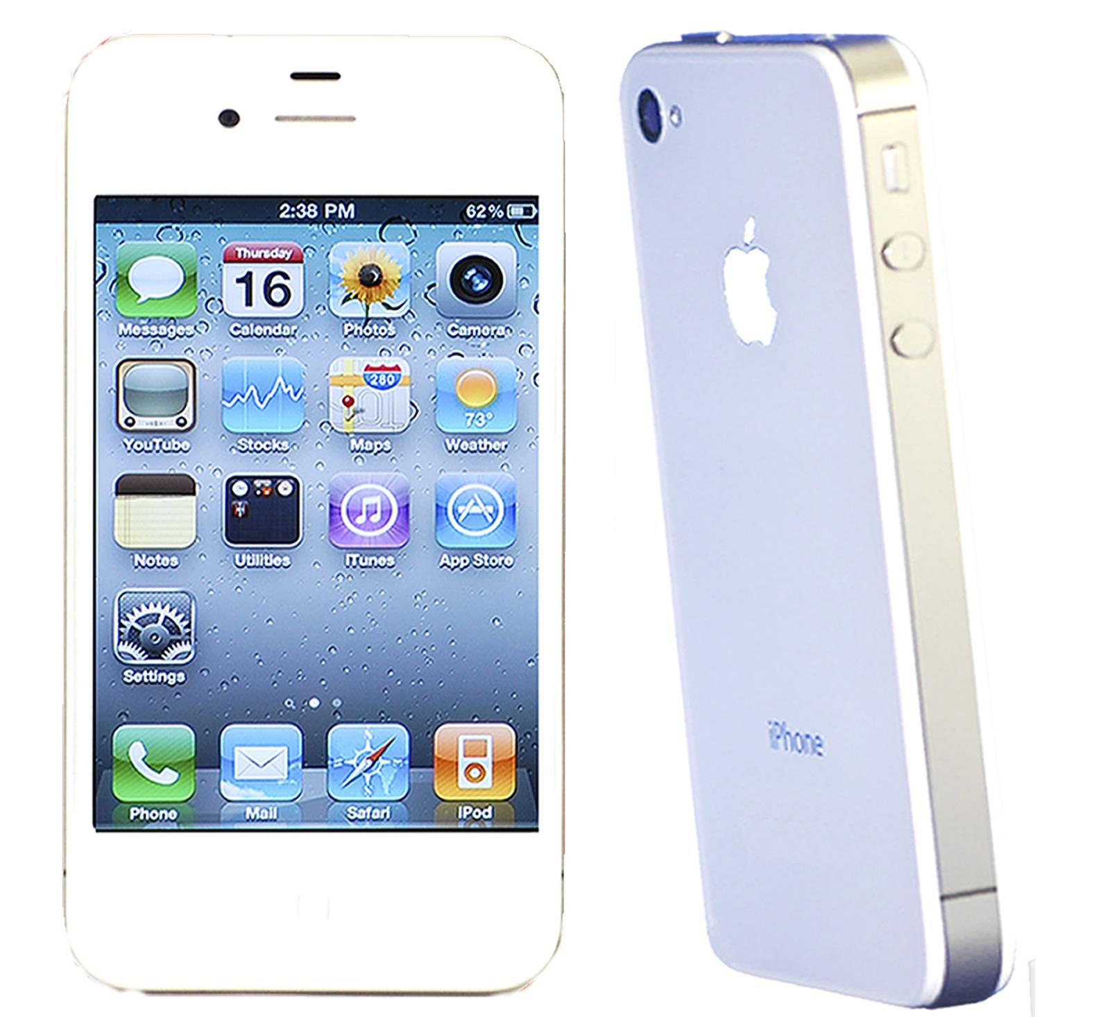 iphone 4s no contract quot apple iphone 4s white 8gb sprint smartphone quot 14438