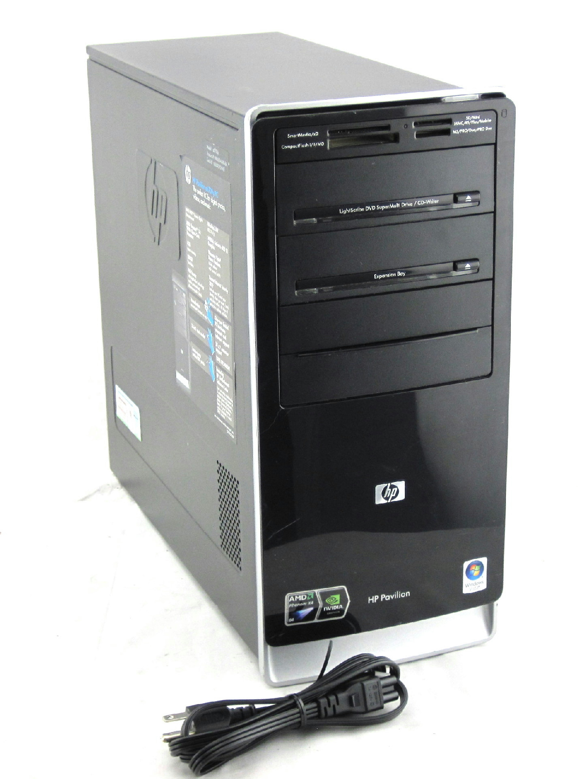 HP Pavilion a6700y Desktop Windows 7 AMD Phenom 9150e Quad ...