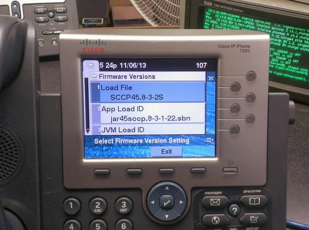 how to change time on cisco ip phone