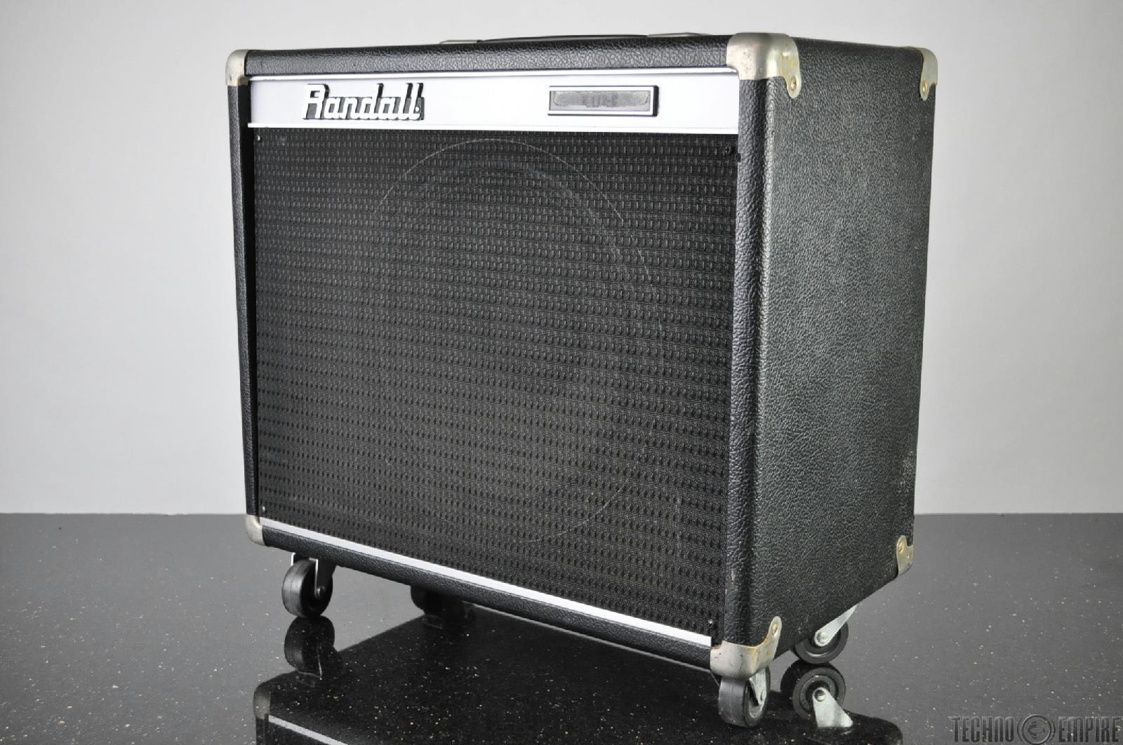 vintage randall r112 c 1x12 open back guitar amp speaker cab cabinet 16406 ebay. Black Bedroom Furniture Sets. Home Design Ideas
