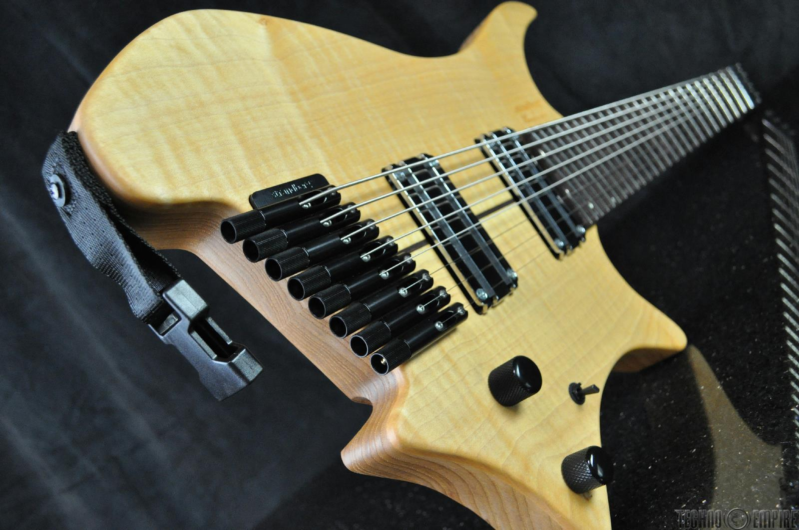 strandberg boden 8 string fanned fret headless electric guitar djent 16477 ebay. Black Bedroom Furniture Sets. Home Design Ideas