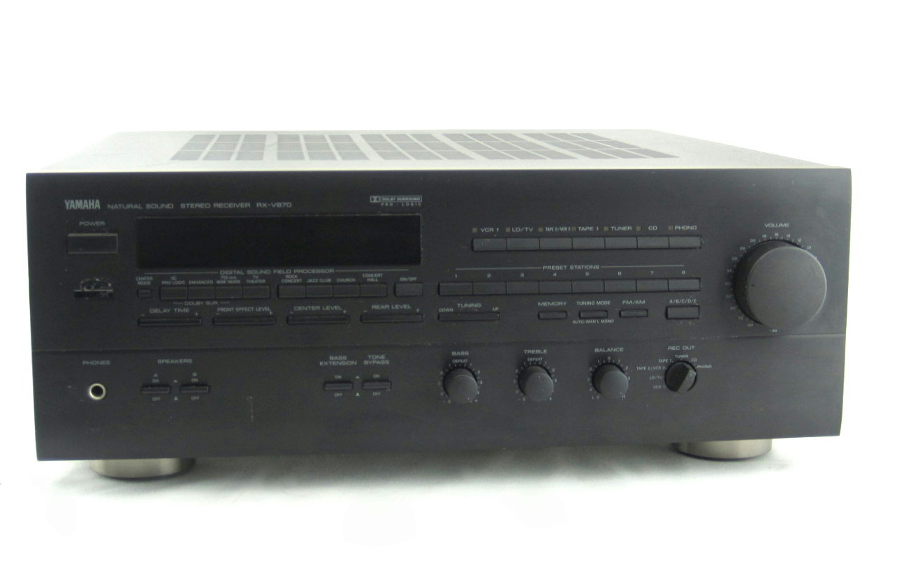 How To Balance Speakers On Yamaha Receiver Rx V