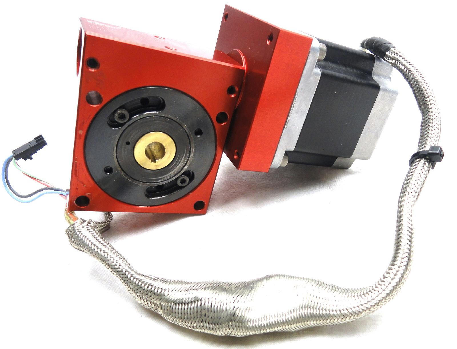 Precision Worm Gear Reducer Stepper Motor 1 Rino
