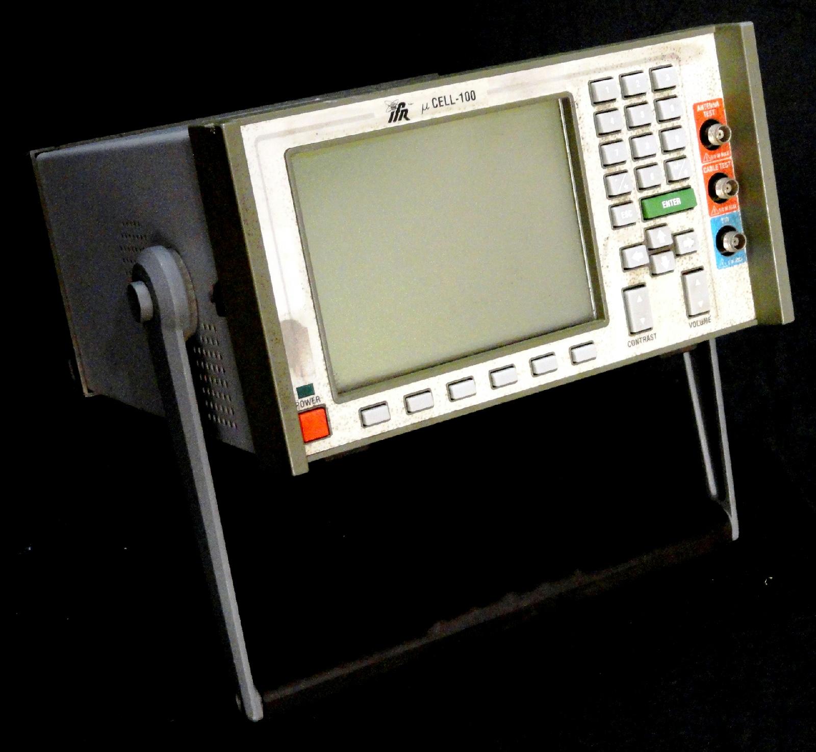 ifr ucell 100 digital radio test set large lcd display. Black Bedroom Furniture Sets. Home Design Ideas