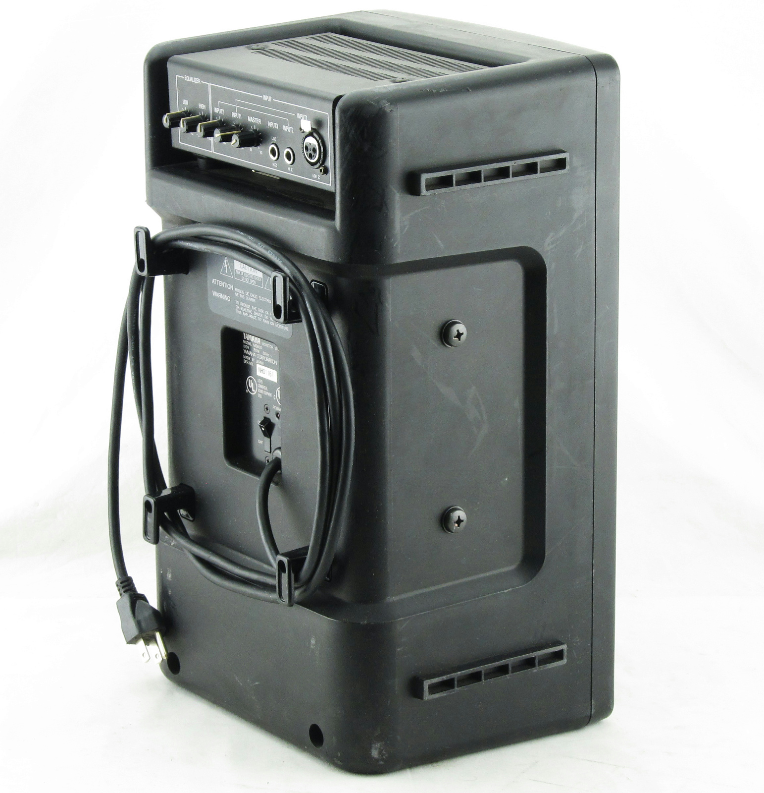 yamaha powered monitor speaker ms60s ebay. Black Bedroom Furniture Sets. Home Design Ideas
