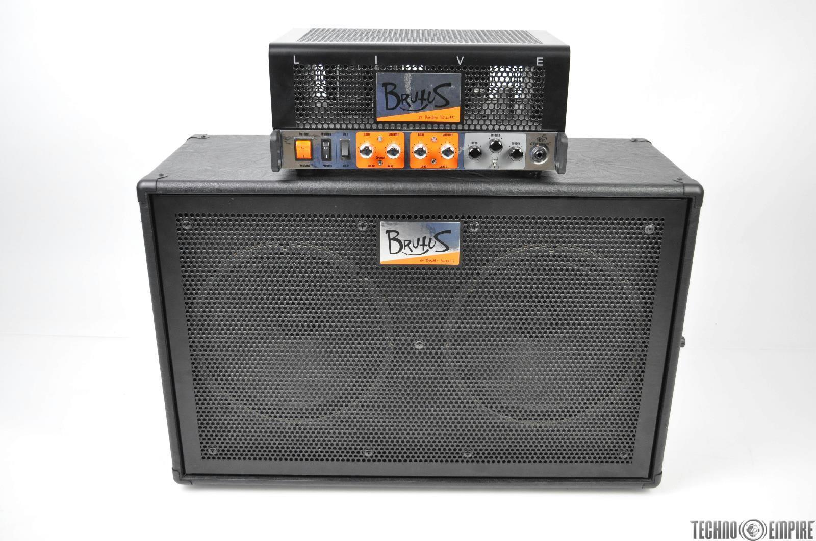 2x12 Speaker Cabinet Cicognani Brutus Live Guitar Tube Amplifier Head 2x12 Speaker