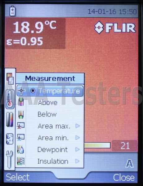 Flir systems b60 thermal imaging infrared camera ir b 60 for Thermal imaging report template