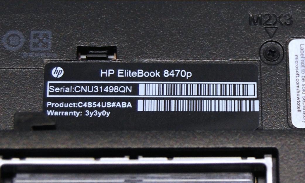 94 HP ELITEBOOK 8470P CHANGE SERIAL NUMBER, 8470P CHANGE NUMBER HP