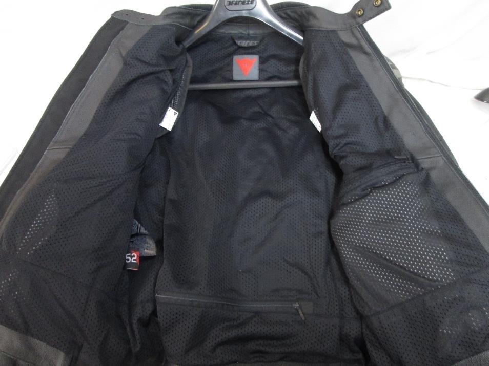 Dainese mugello str leather motorcycle jacket
