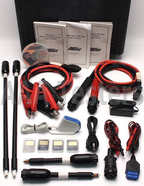 Alber Battery Testing : Alber cellcorder crt handheld cell voltage resistance
