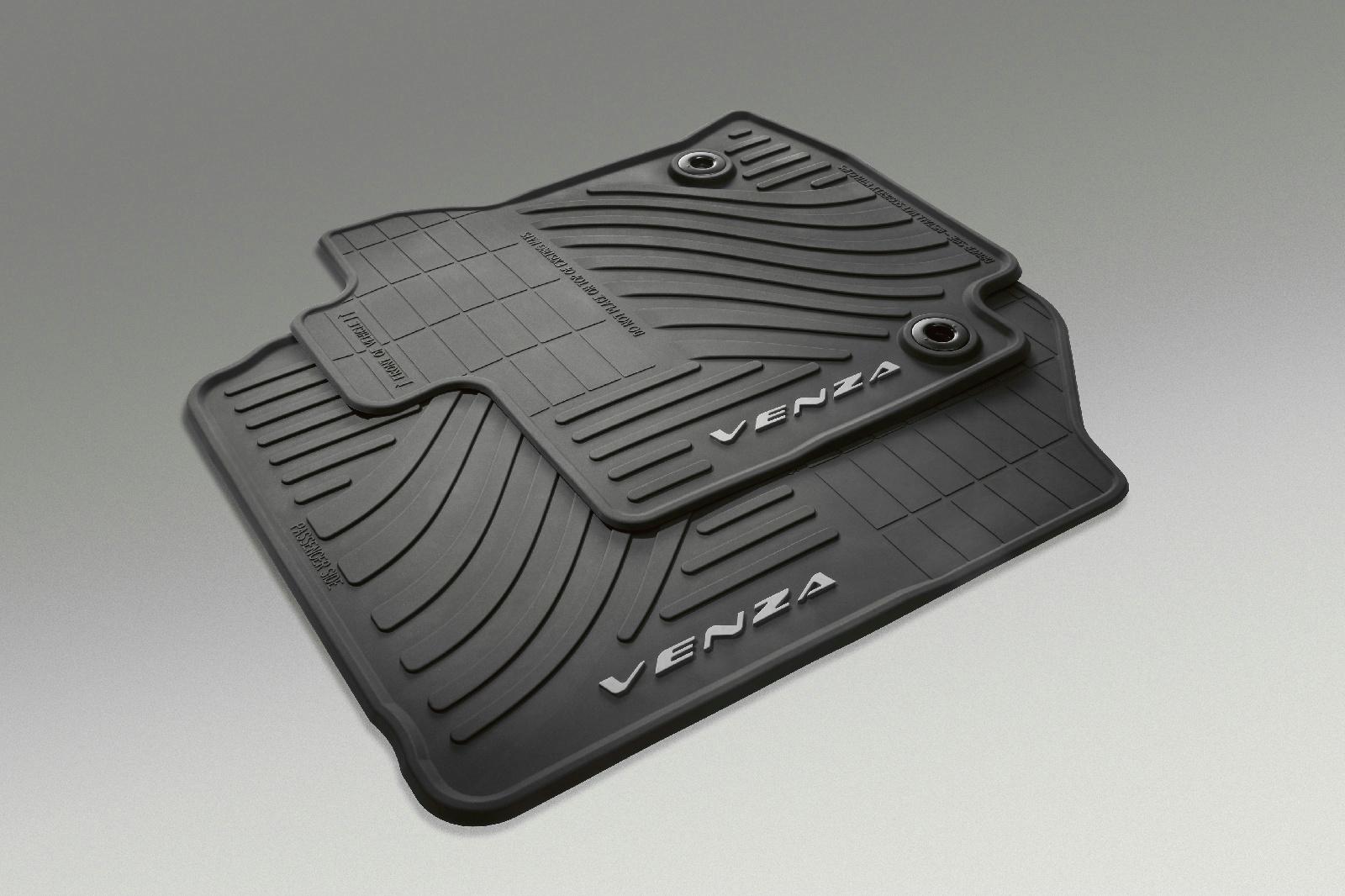 2013 14 Oem Toyota Venza Black All Weather Floor Mat Set Of 4 Pt206 0t130 20 Ebay
