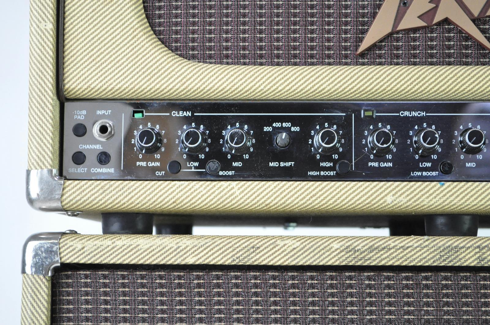 Peavey Classic Cabinet Peavey Classic 400 Amp Tubo Bass Amp 810tx Altavoz 8x10 Cabina
