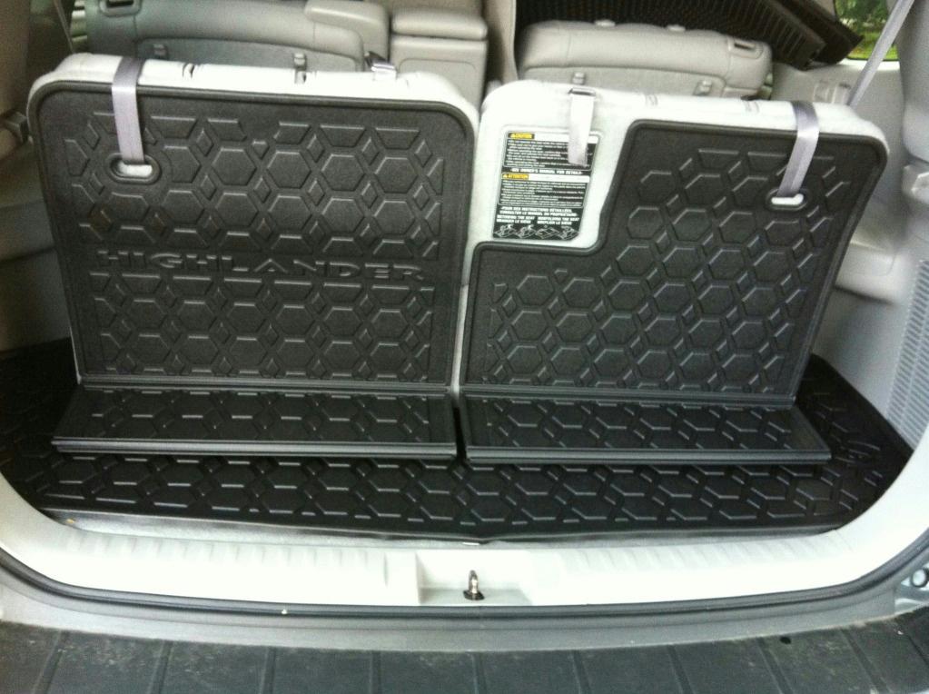 2013 Toyota Highlander For Sale >> 2011-13 OEM FACTORY TOYOTA HIGHLANDER ALL WEATHER CARGO TRAY / PU550-48110-01 | eBay