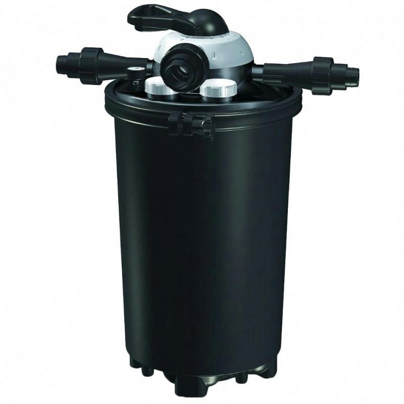 Pondmaster clearguard pressure pressurized filter 18 watt for 100 gallon pond pump filter
