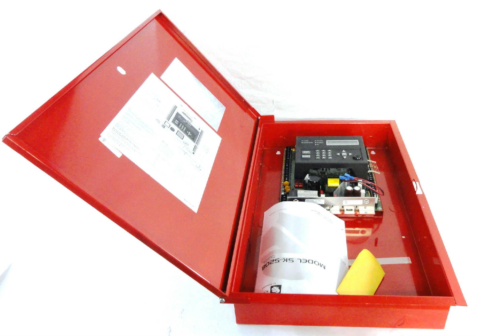 Silent Knight Sk5208 10 Zone Conventional Fire Alarm