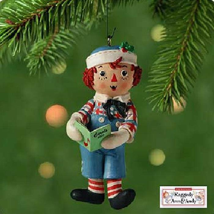 Hallmark Keepsake Ornament 2001 Raggedy Andy Raggedy Ann