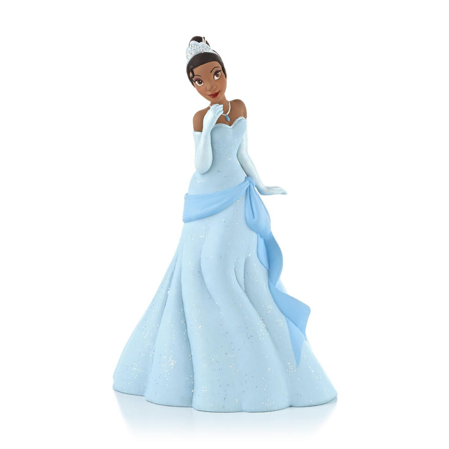 Princess Tiana Dress: Hallmark Ornament 2013 Tiana's Party Dress