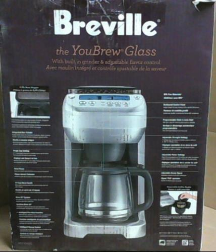 Breville Coffee Maker Glass : Breville BDC550XL The You Brew Glass Coffee Maker with Grinder USD 279 99 Read eBay