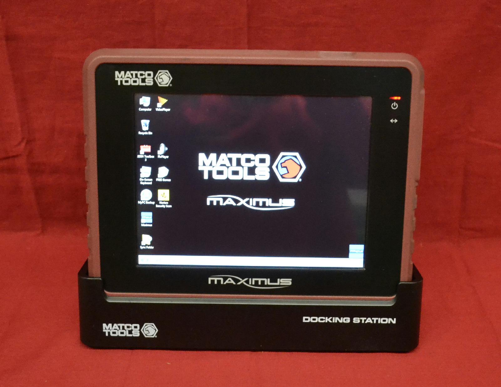 Matco Tools - Maximus Scanner - Auto Diagnostic Computer - Automotive