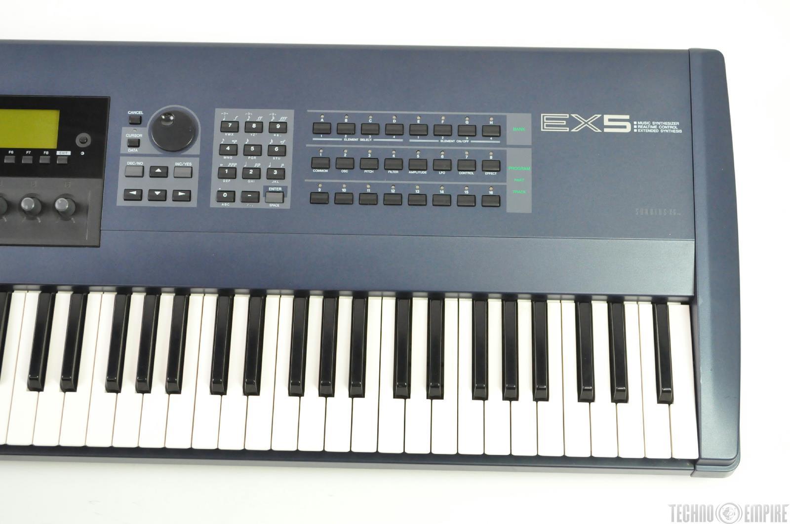 Keyboard Sampler Workstation : yamaha ex5 76 key music workstation synth sampler synthesizer keyboard 17746 ~ Hamham.info Haus und Dekorationen