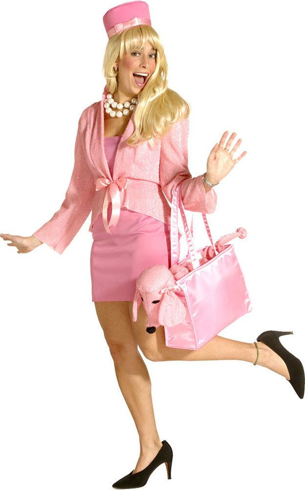 Awesome Details About Poshatively Pink Costume With Pill Box Hat Legally Blonde