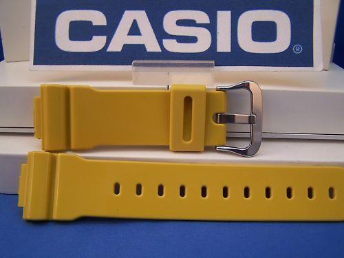 2a332b59c39 Casio Watch Band DW-5600 CS-9 Mustard 16mm Resin Strap. G-Shock ...