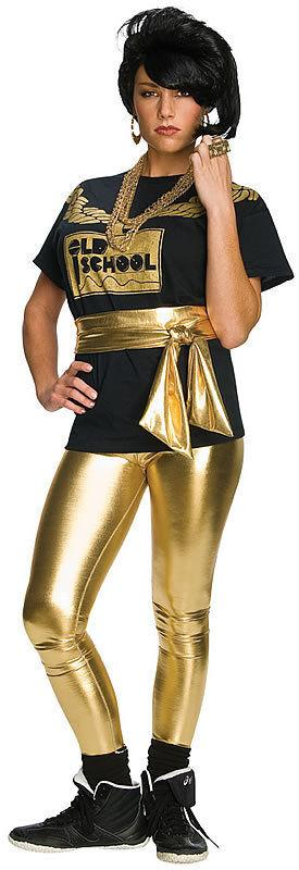 16e554a50633d Description. Gold Lame' Leggings- great for 70's Disco or 80's Old School  Costumes.