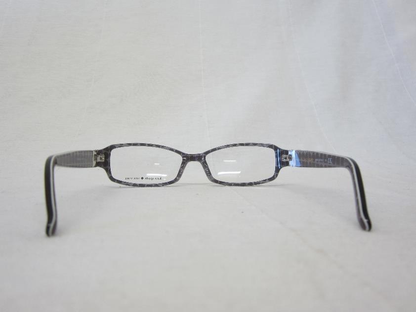 Kate Spade Florence Eyeglass Frames : USD255 Kate Spade Florence Eyeglasses 53mm Black Gray eBay