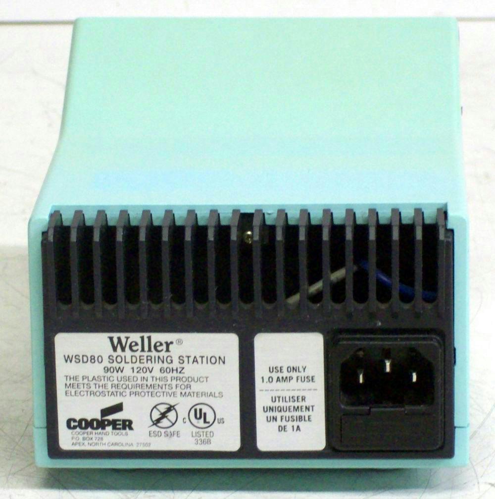 WELLER WSD80 SOLDERING...