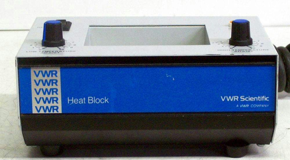 VWR SCIENTIFIC 13259-005 DRY BLOCK HEATER 130°C