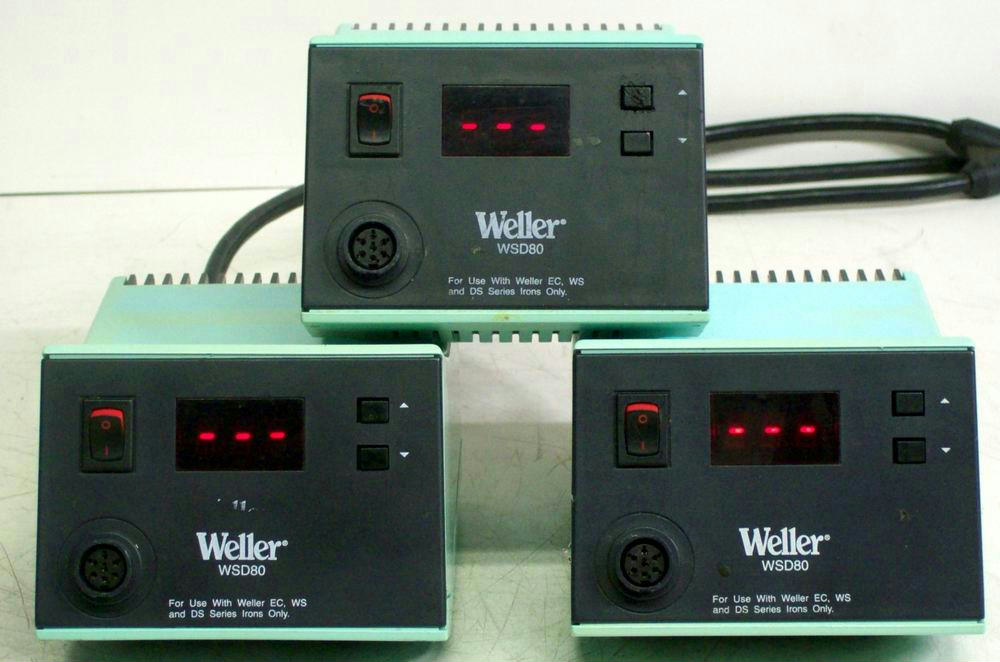 3 WELLER WSD80 SOLDERI...