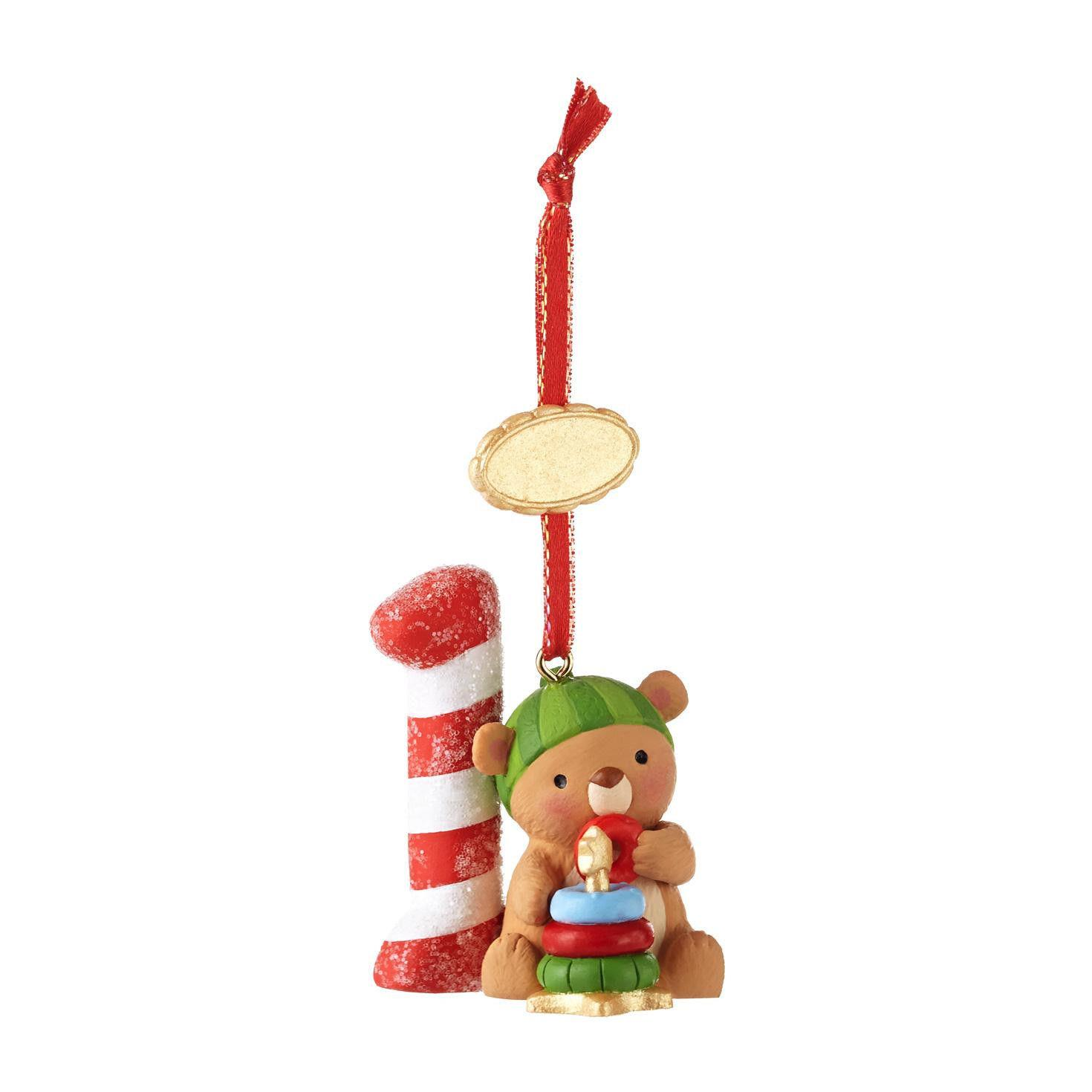Hallmark ornament my first christmas child s age
