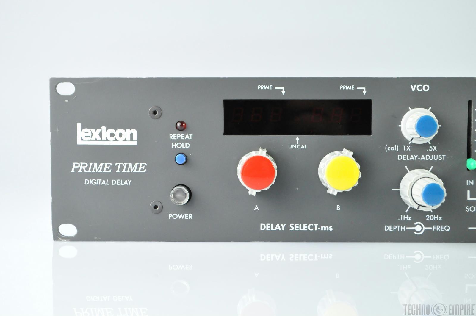 lexicon prime time digital delay effect unit 18643 ebay. Black Bedroom Furniture Sets. Home Design Ideas