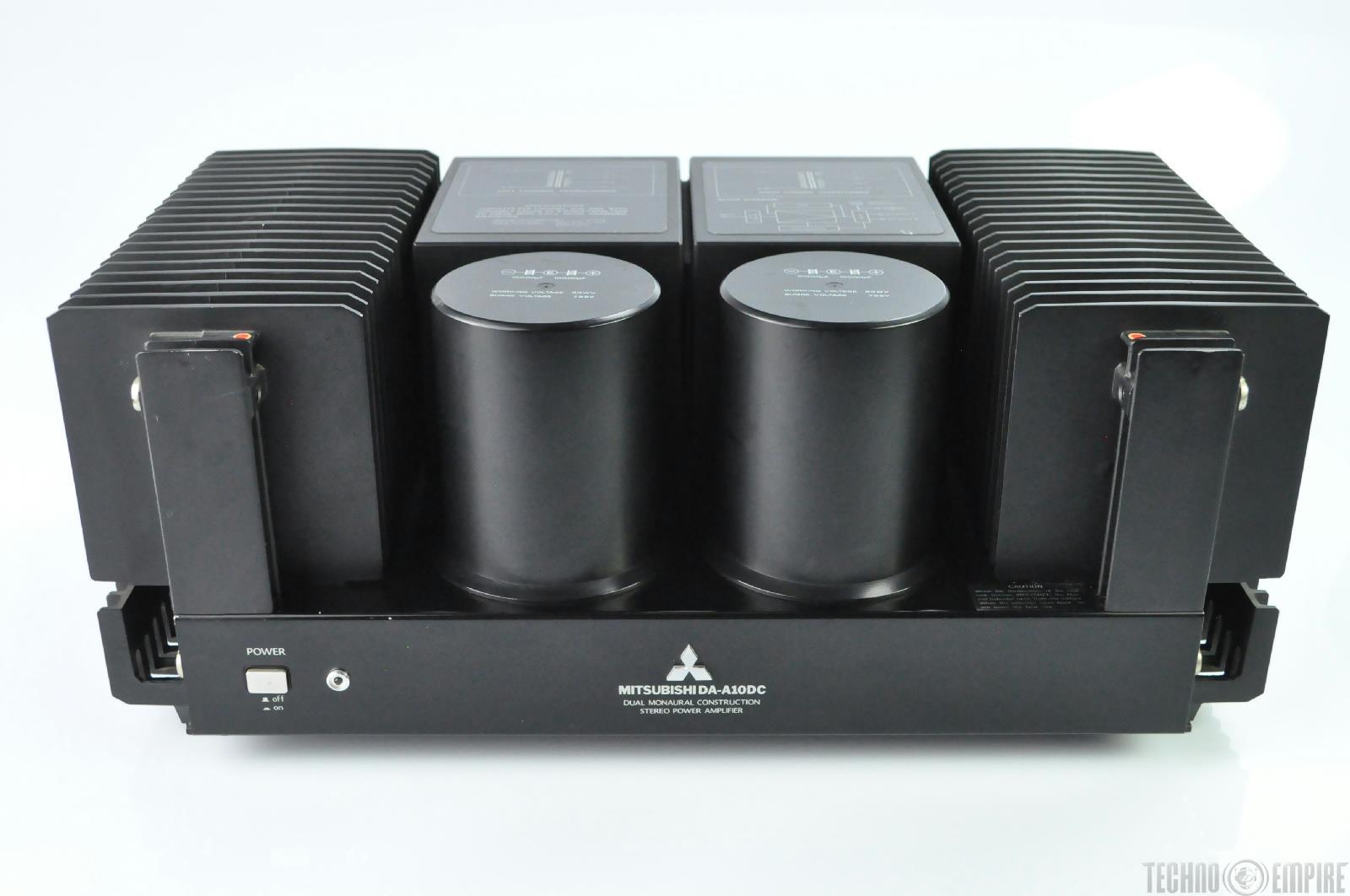mitsubishi da-a10 dc stereo power amplifier amp 200w 8 ohm ... schematic 2003 mitsubishi montero #15