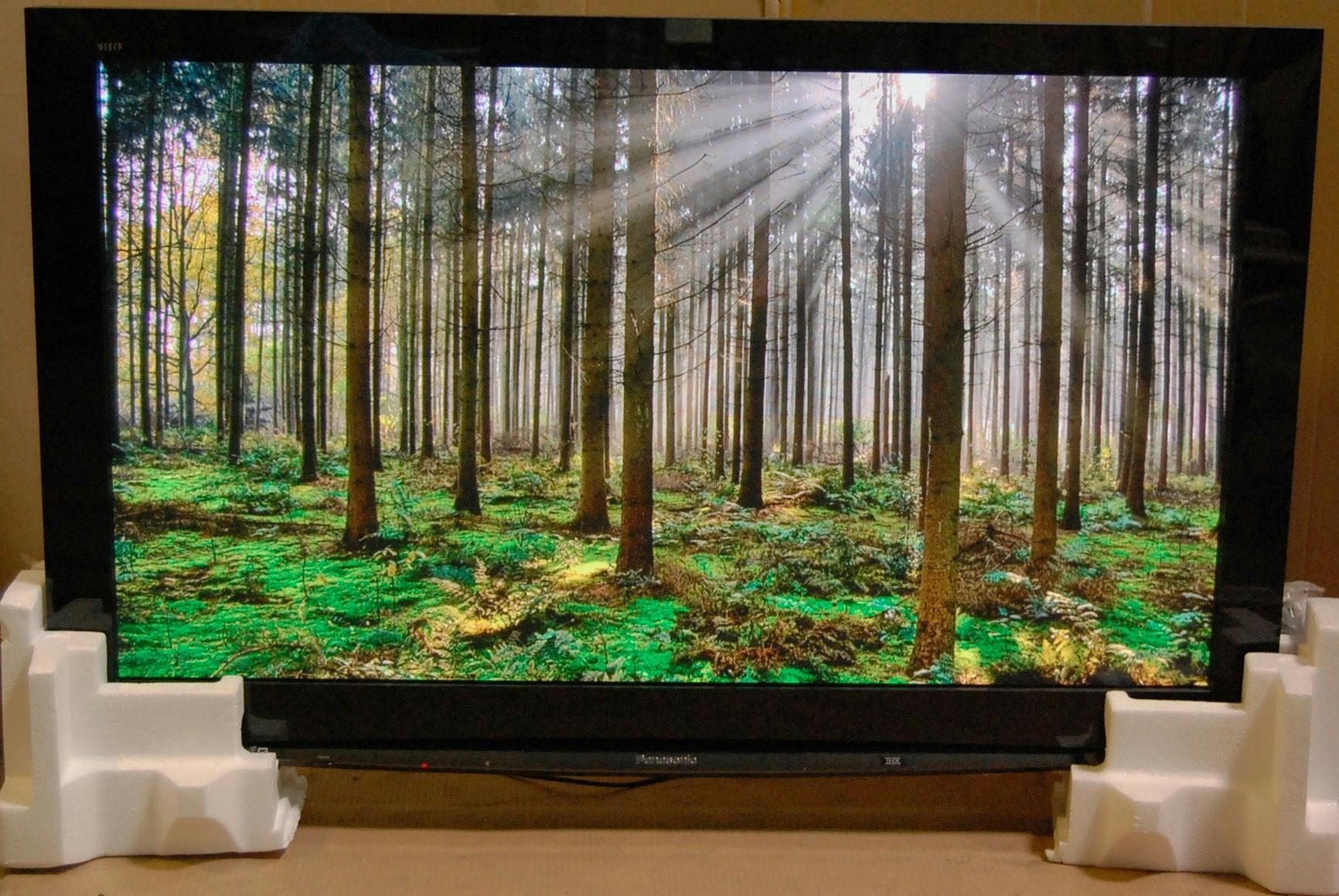 "Panasonic Viera TH-50PZ80U 50"" 1080p Plasma TV, 1920 x 1080, HDMI - 800112059"