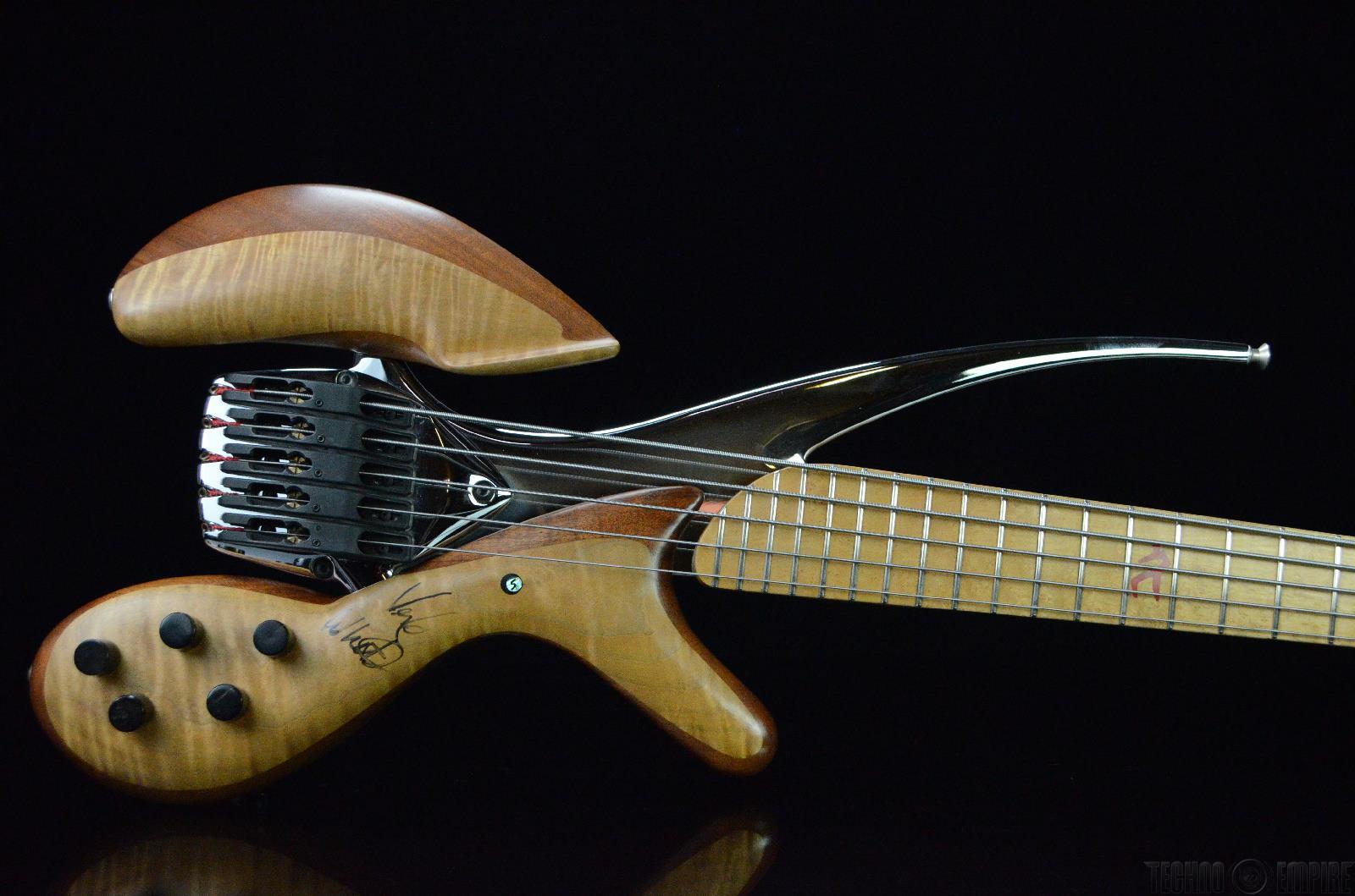 spalt magma x501 5 string electric bass guitar signed by verdine white 17869 ebay. Black Bedroom Furniture Sets. Home Design Ideas