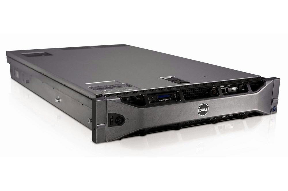 DELL PowerEdge R710 Server 2xQuad-Core Xeon 2 93GHz + 48GB RAM + 4x600GB  RAID