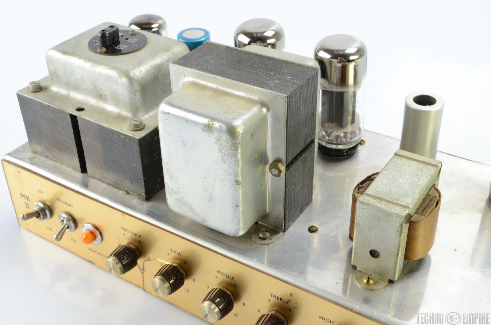 1965 marshall jtm45 mkii block logo guitar amplifier amp head 18835 ebay. Black Bedroom Furniture Sets. Home Design Ideas