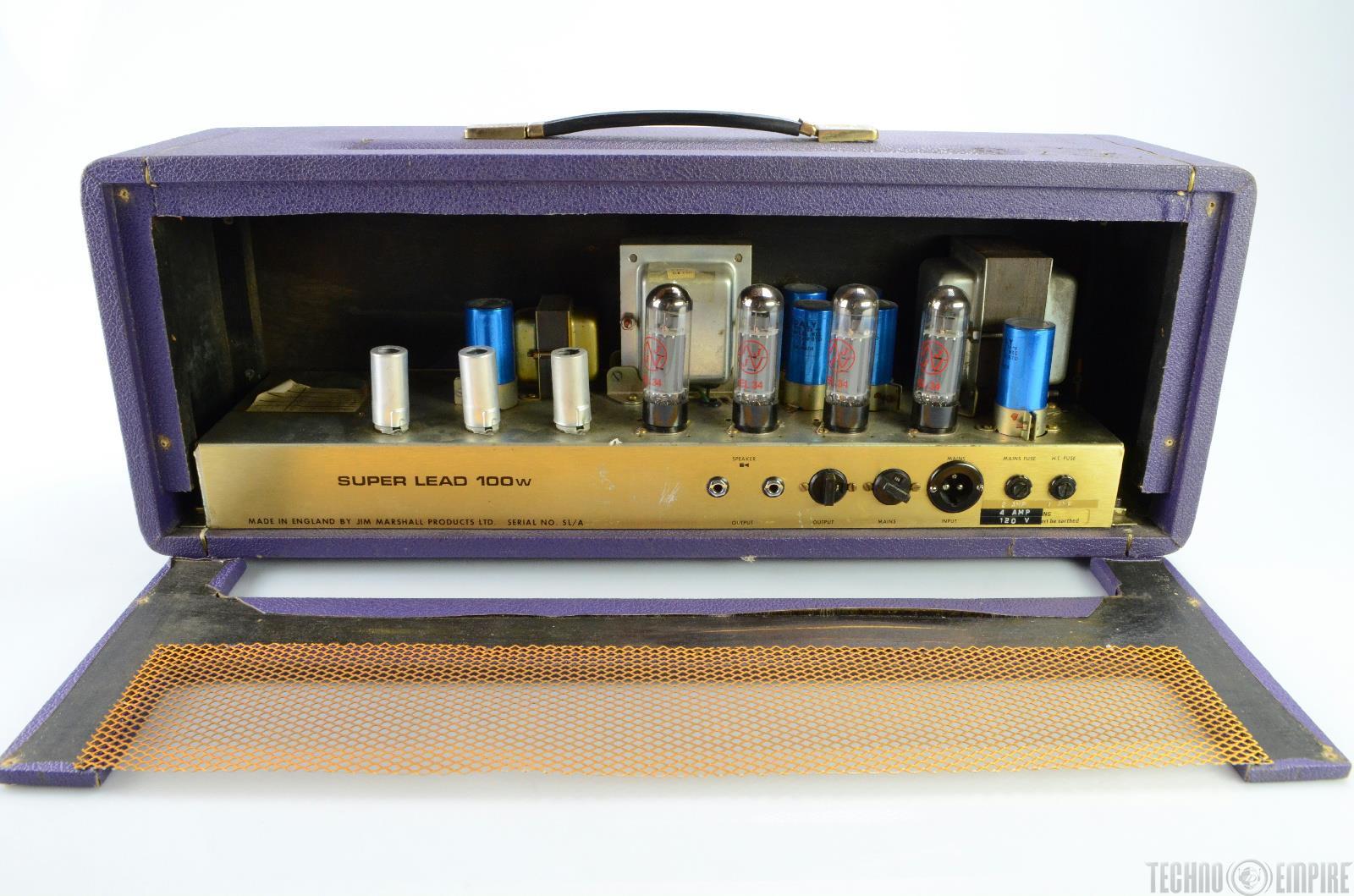 1974 marshall jmp super lead 100 rare custom color guitar tube amp head 18838 ebay. Black Bedroom Furniture Sets. Home Design Ideas
