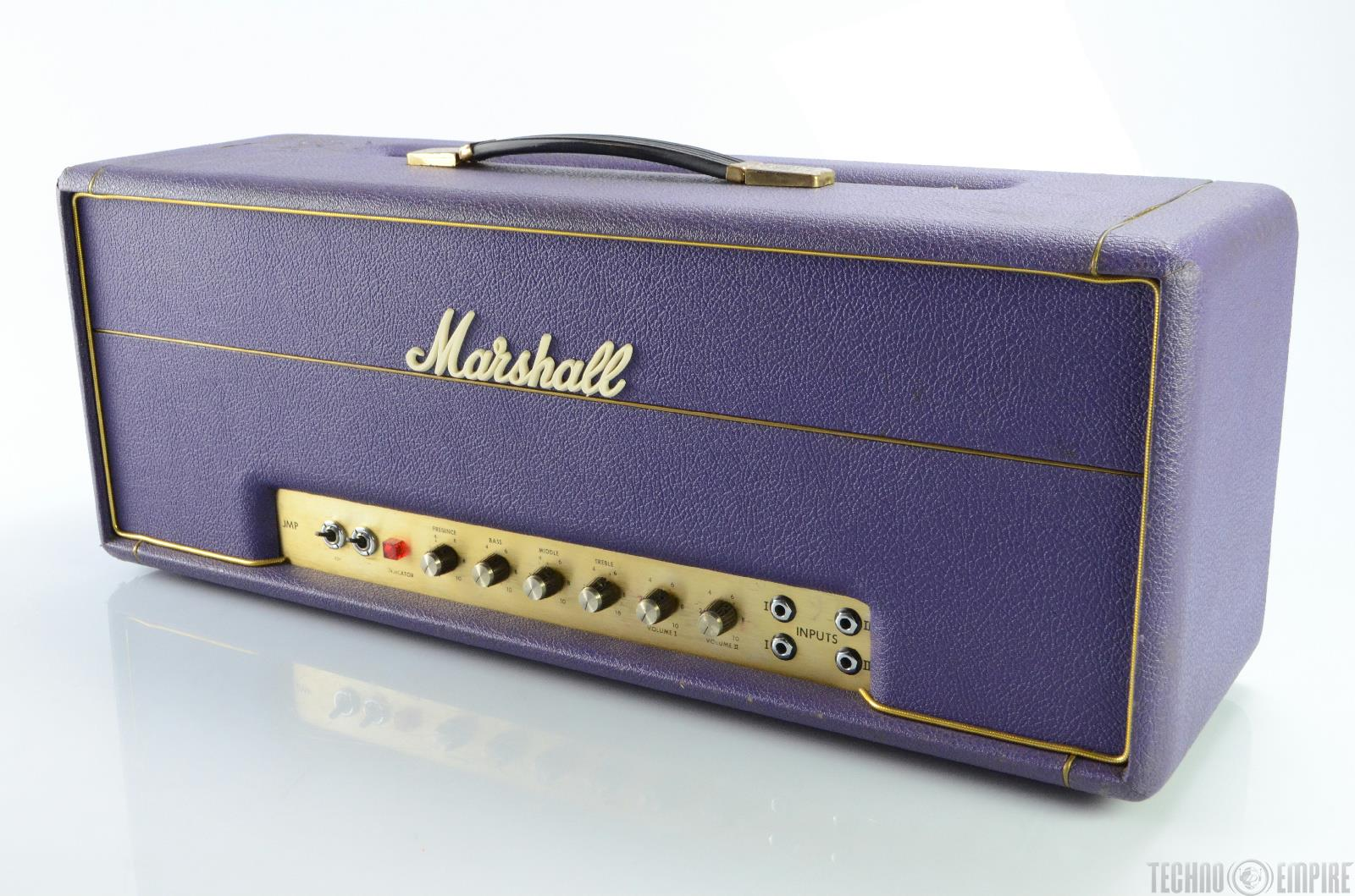 1974 marshall jmp super lead 100 rare custom color guitar tube amp head 18838 ebay. Black Bedroom Furniture Sets. Home Design Ideas