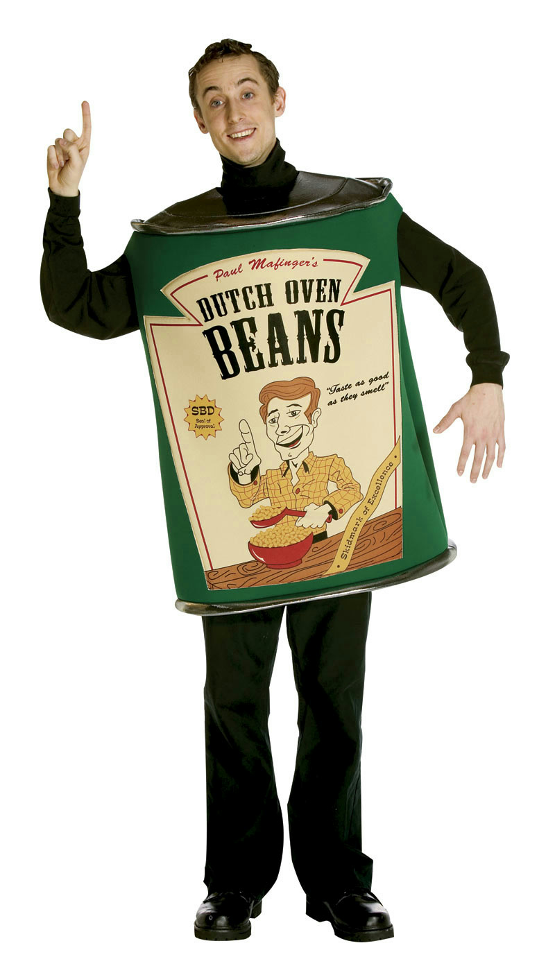 dutch oven baked beans funny adult costume pull my finger 791249610609 ebay. Black Bedroom Furniture Sets. Home Design Ideas