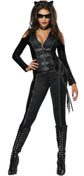 Description. Fatal Feline Sexy Adult Costume ...  sc 1 st  eBay & Fatal Feline Sexy Black Cat Adult Costume Size XS 4-6 | eBay