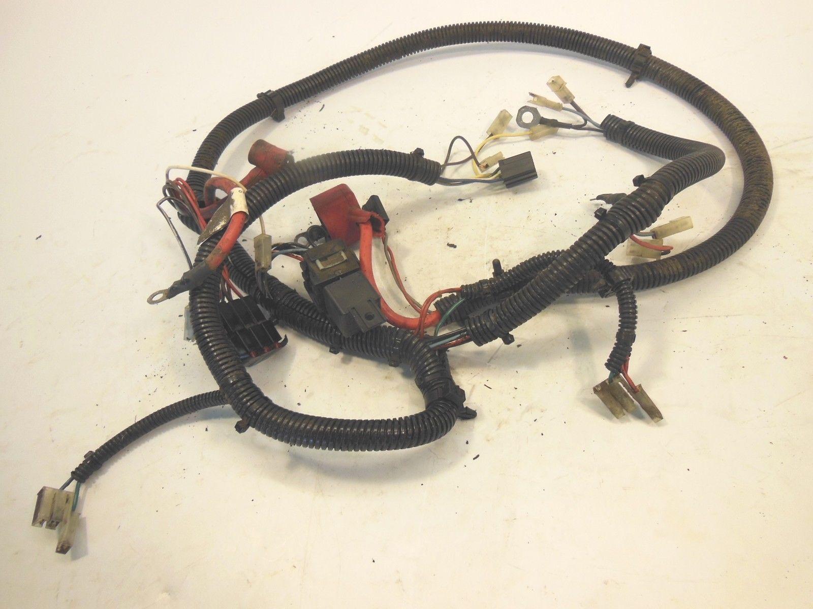 toro 14-38 hxl wheel horse 71215 main electrical wiring ... wheel horse wiring harness #9