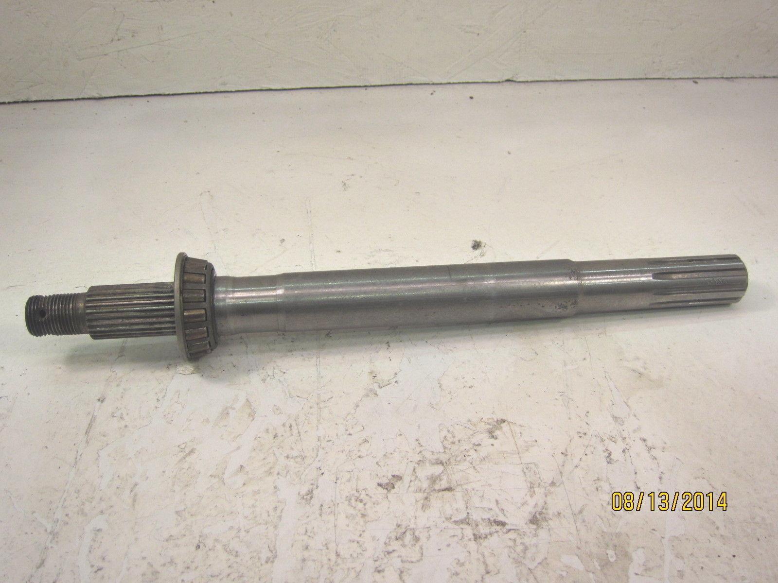 John Deere 400 Garden Tractor Axle Shaft : John deere garden tractor transmission lh axle shaft