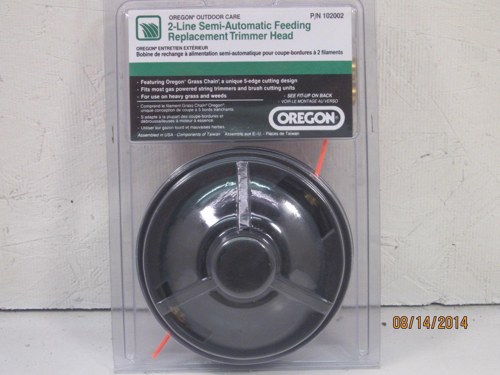 John Deere Trimmer Replacement Parts : Oregon universal line replacement string trimmer head