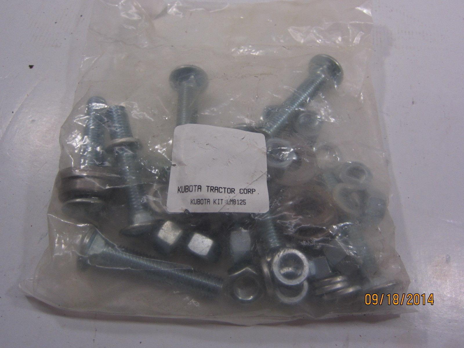 Kubota Wheel Weights : New kubota lm wheel weight bolt kit for set of