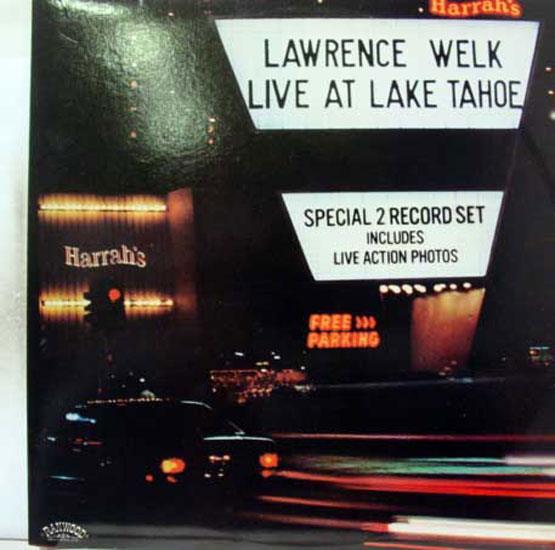 LAWRENCE WELK - Lawrence Welk Live At Lake Tahoe 2 Lp Mint- Ran 10001 Vinyl 1979 Record (live At Lake Tahoe)