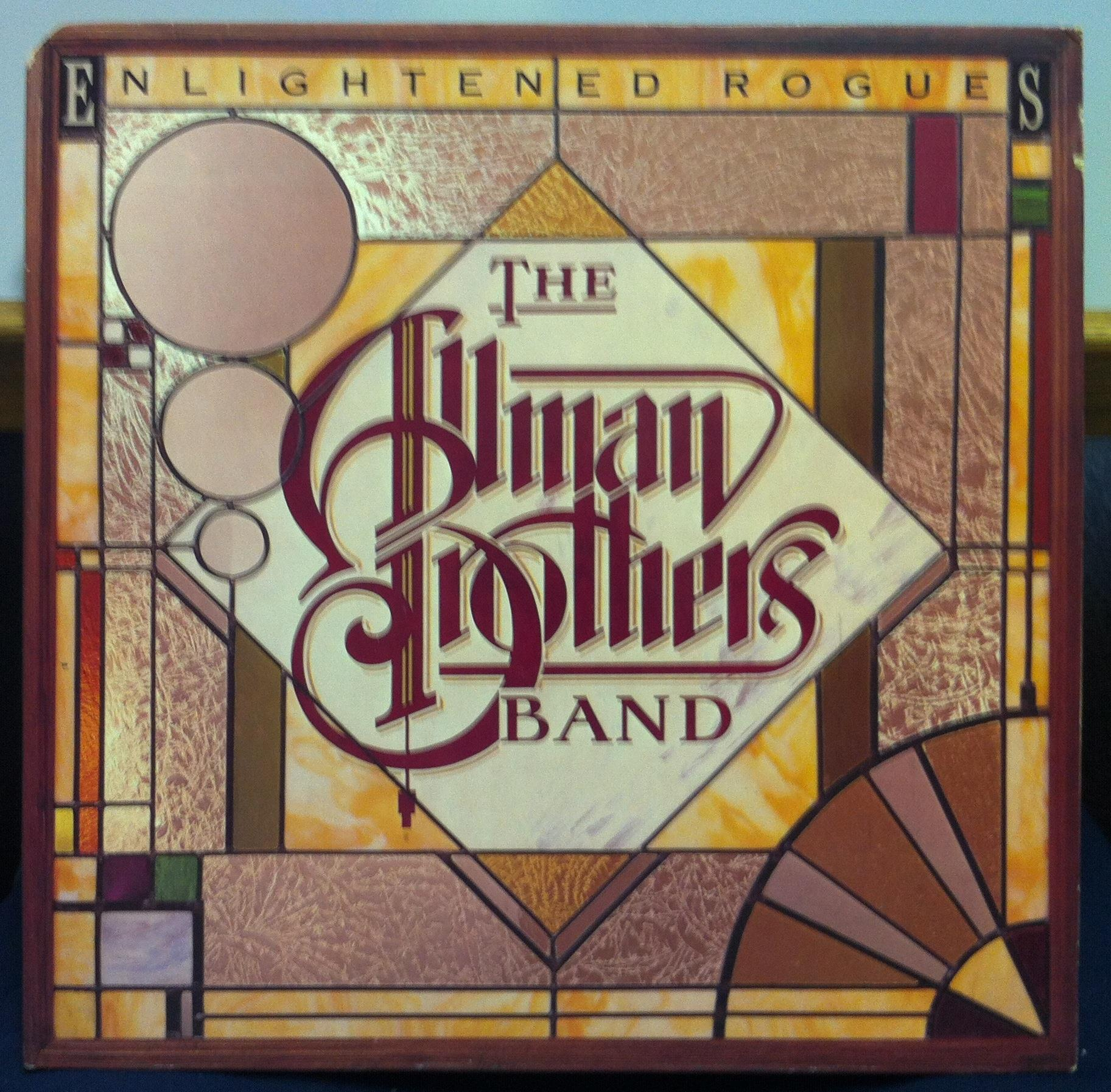 ALLMAN BROTHERS BAND - The Allman Brothers Band Enlightened Rogues Lp Vg+ Cpn 0218 Vinyl 1979 Record (enlightened Rogues)