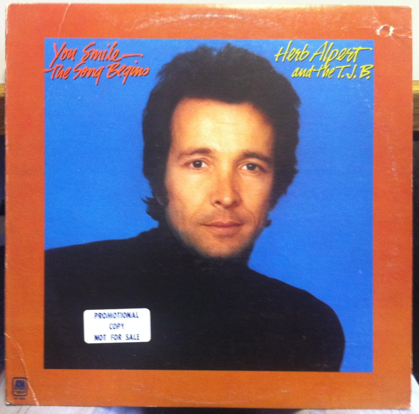 You Smile The Song Begins - HERB ALPERT & THE T.J.B.