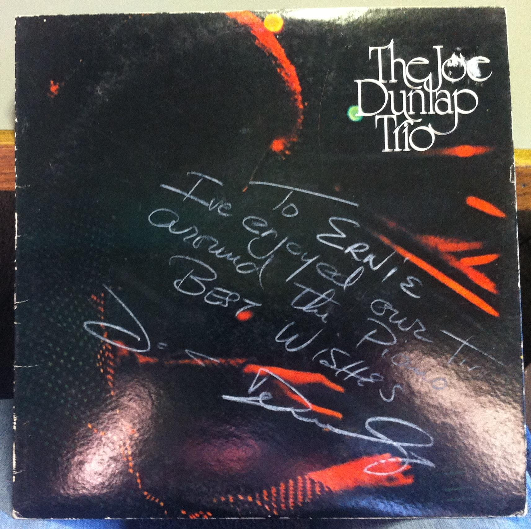 The Joe Dunlap Trio - The Joe Dunlap Trio